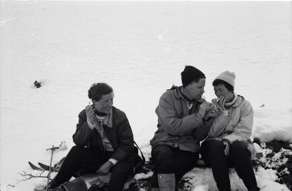 Skitur m/Gunn og Knut Simensen