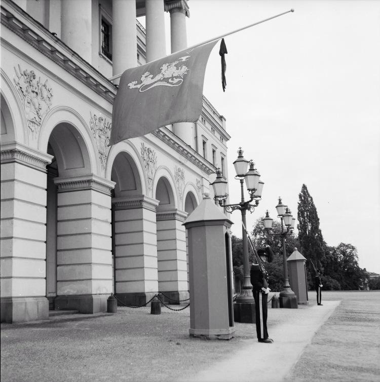 Slottet v/ Kong Haakons død