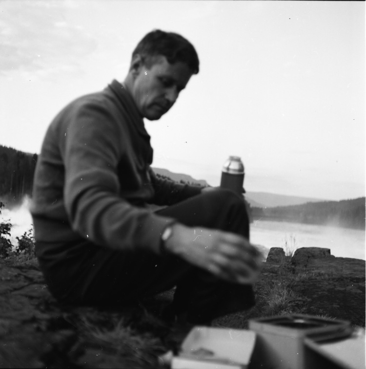 Bjarne Hunderfossen 1958